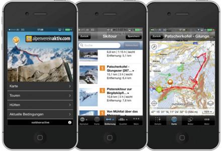 """App """"alpenvereinaktiv"""""""